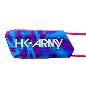 HK Army Ball Breaker Barrel Condoms - Poison (Purple/Blue Swirl)