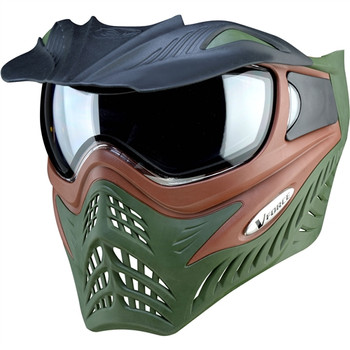 V-Force Grill Mask - Brown / Green