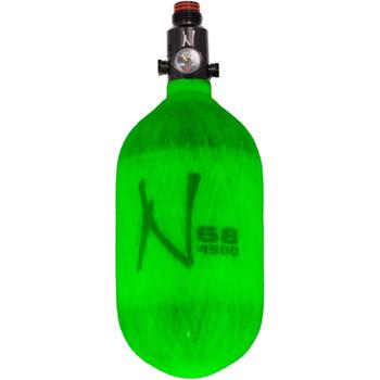 Ninja 68ci 4500psi Hpa Bottle Translucent - Lime