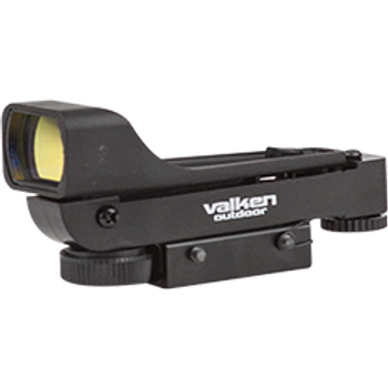 Valken Tactical Molded Red Dot Sight-Dual Mount