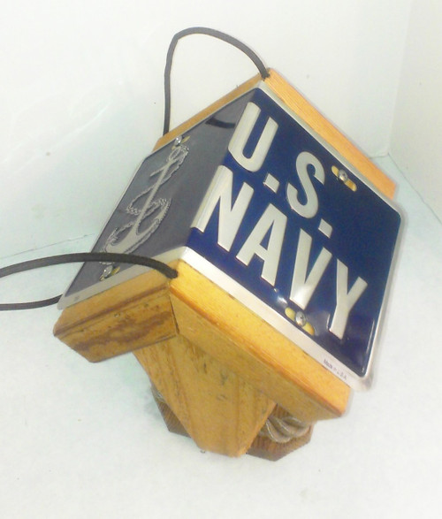 Navy Bird Feeder