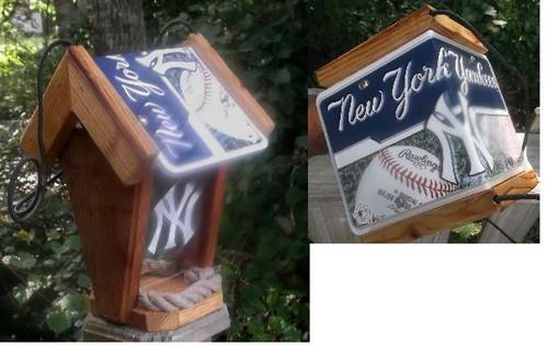 New York Yankees Bird Feeder