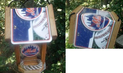 New York Mets Bird Feeder