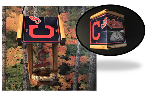 Cleveland Indians Bird Feeder