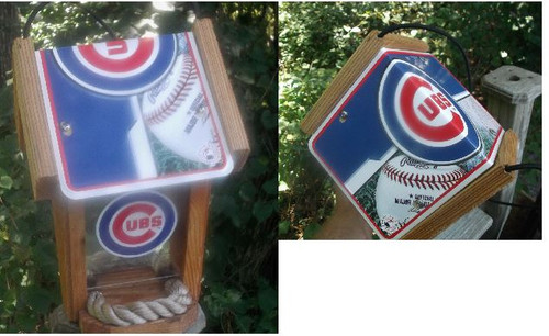 Chicago Cubs Bird Feeder