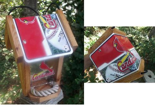 St. Louis Cardinals Bird Feeder
