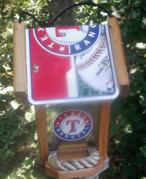 Texan Rangers Bird Feeder