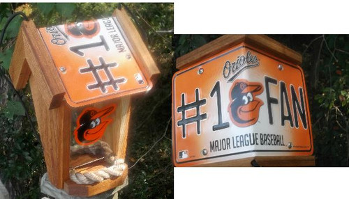Baltimore Orioles #1 Fan Bird Feeder