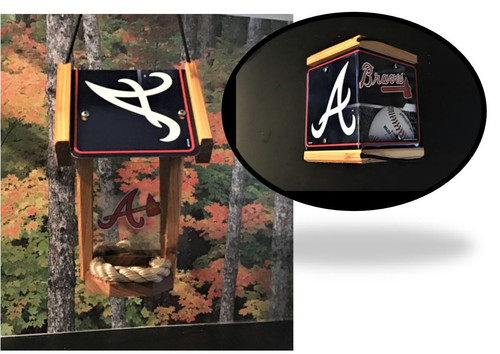 Atlanta Braves Bird Feeder