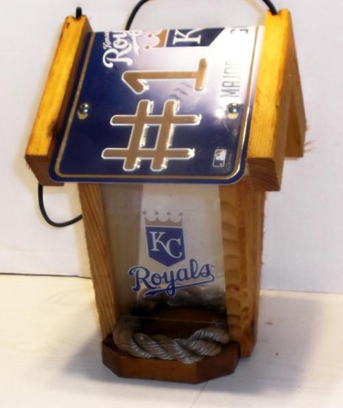 Kansas Royals #1 Fan  Bird Feeder