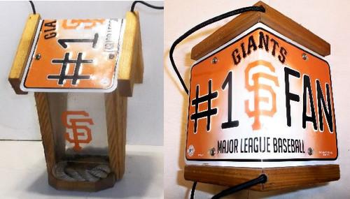 San Francisco Giants #1 Fan  Bird Feeder