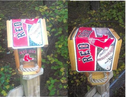 Boston Red Sox Bird Feeder