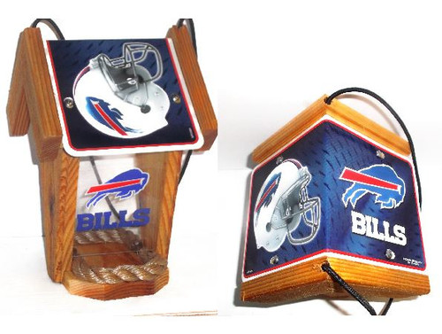 Buffalo Bills  License Plate Roof Bird Feeder