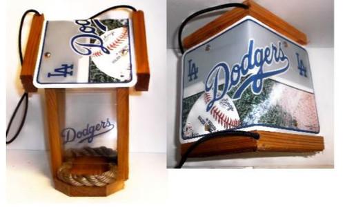 LA Dodgers Bird Feeder