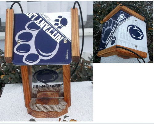 Penn State Fan License Plate Roof Bird Feeder SI Series