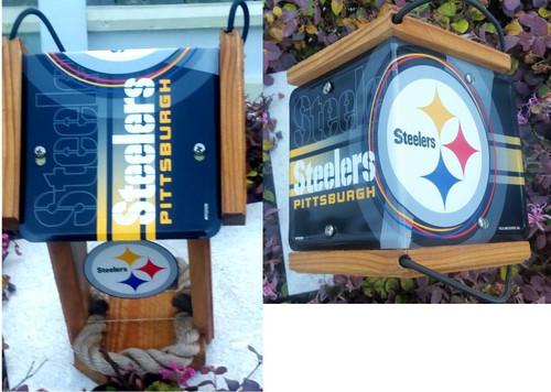 Pittsburgh Steelers License Plate Roof Bird Feeder (N-Series)