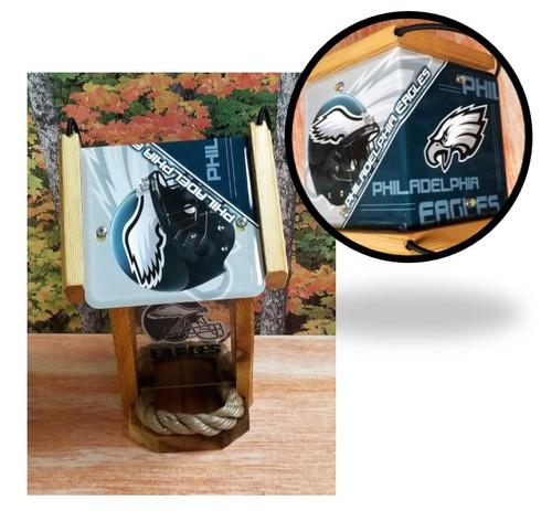 Philadelphia Eagles License Plate Roof Bird Feeder (SI Series)