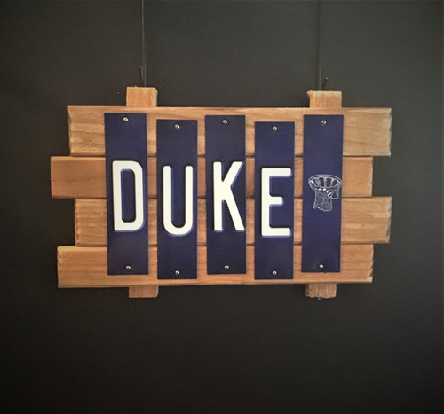 DUKE Fun Strip Sign