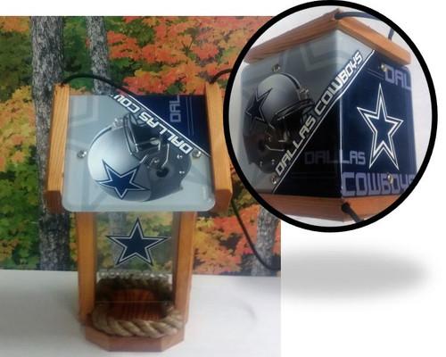 Dallas Cowboys License Plate Roof Bird Feeder (SI series)