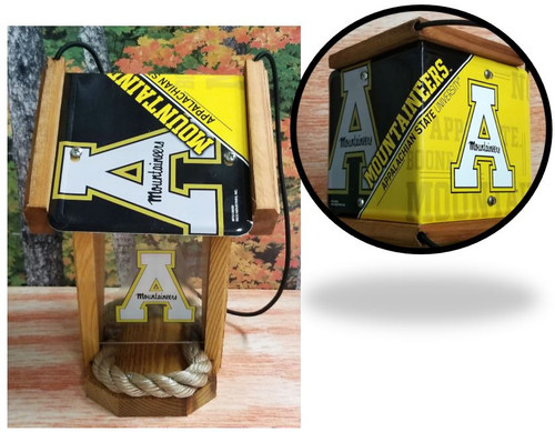 Appalachian State  License Plate Roof Bird Feeder (SI Series)