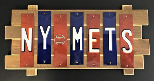 NY METS Fun Strip Sign
