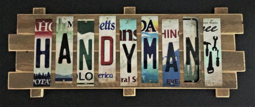 HANDYMAN STRIP SIGN