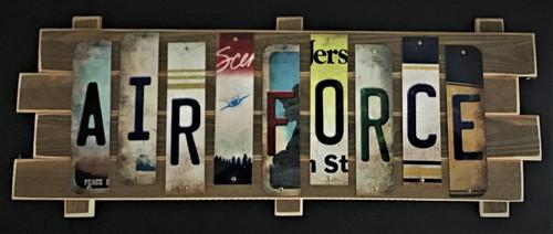 AIR FORCE STRIP SIGN