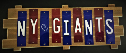 NY GIANTS Fun Strip Sign