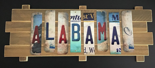 ALABAMA STRIP SIGN
