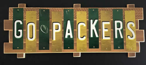 GO PACKERS Fun Strip Sign