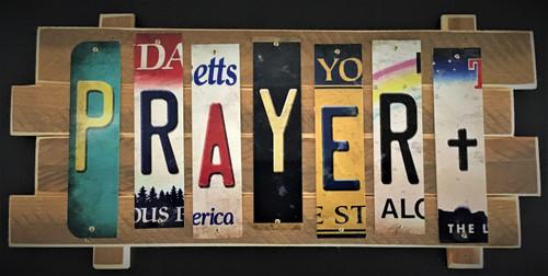 PRAYER STRIP SIGN