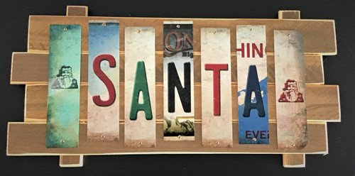 SANTA STRIP SIGN