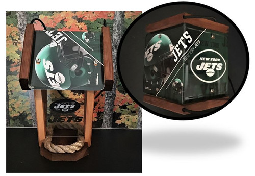 New York Jets  License Plate Roof Bird Feeder (SI Series)