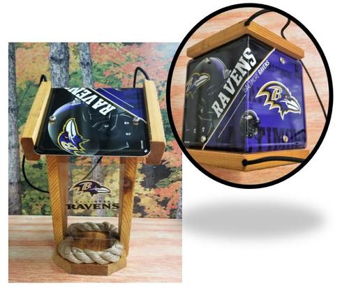 Baltimore Ravens License Plate Roof Bird Feeder (SI Series)