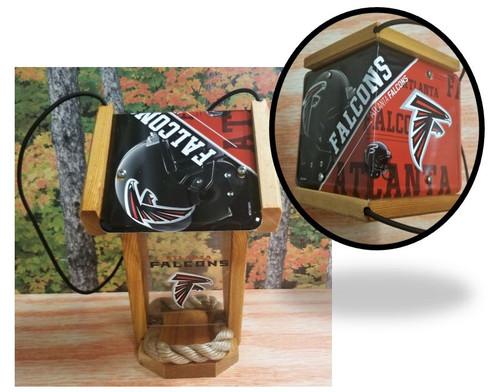 Atlanta Falcons License Plate Roof Bird Feeder (SI Series)