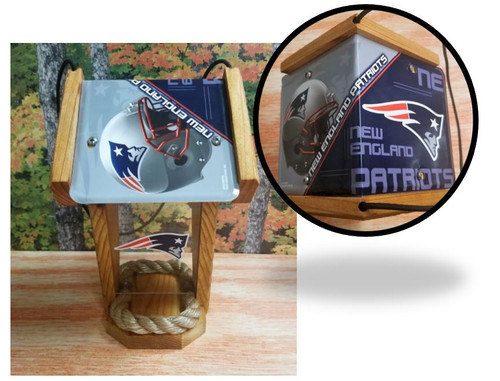 New England Patriots License Plate Roof (SI Series)