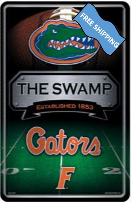 Florida Gators Large Metal Sign
