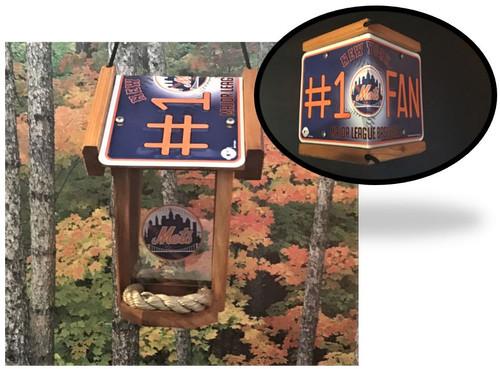 New York Mets #1 Fan Bird Feeder
