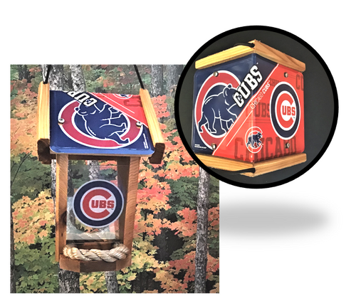 Chicago Cubs Bird Feeder (SI Series)