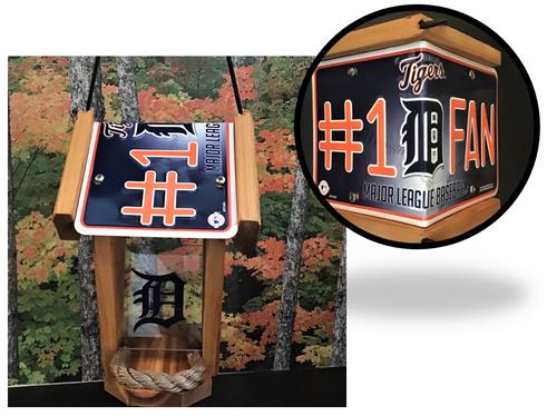 Detroit Tigers #1 Fan Bird Feeder