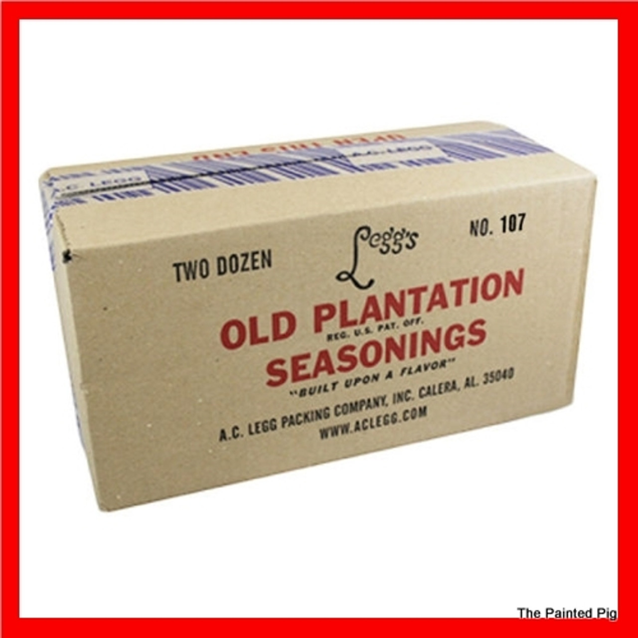 "A.C. LEGG OLD PLANTATION Link Pork Sausage Blend 115  An exacting blend of spices and spice extractives that produces a ""Southern Style"" flavor."