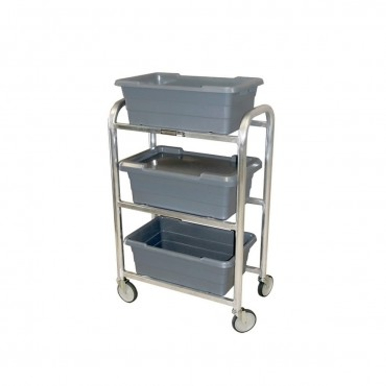 Vertical Tote Dolly - 3 TOTES