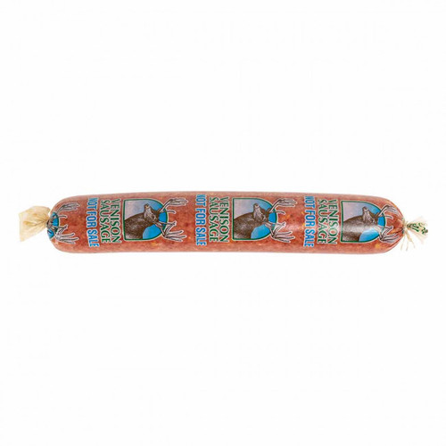 """Fibrous Sausage Casings Clear printed 2.5"""" x 20"""""""