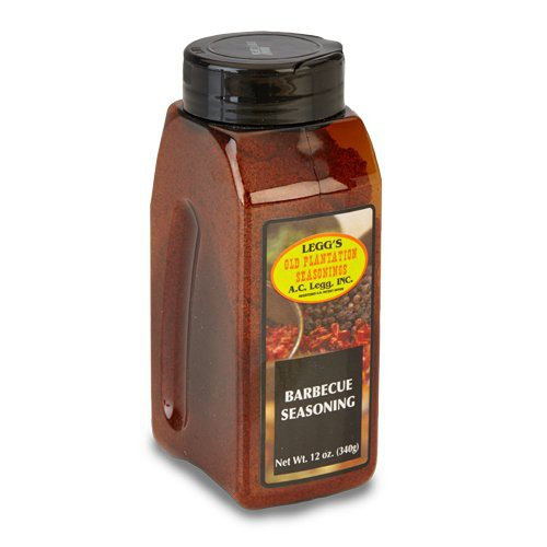 Barbecue Seasoning And Rub blend 107 This blend of seasonings can be either sprinkled on meat after it is cooked, or used ahead of cooking as a marinade.  *Available in both 8.4 oz. & 16 oz. bottles