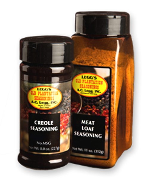 A.C. LEGG'S  CAJUN STYLE BLACKENED SEASONING