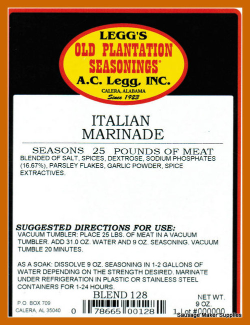 MEAT MARINADES - Page 1 - Sausage Maker Supplies