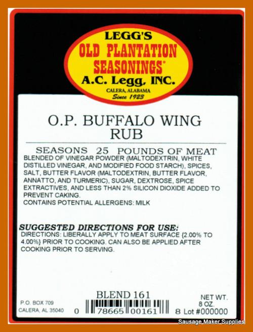 A.C.LEGG'S Buffalo Wing Rub Blend 161