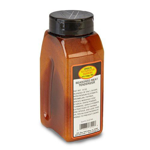 AC LEGG SEASONED TENDERIZER ---- 13 oz bottle