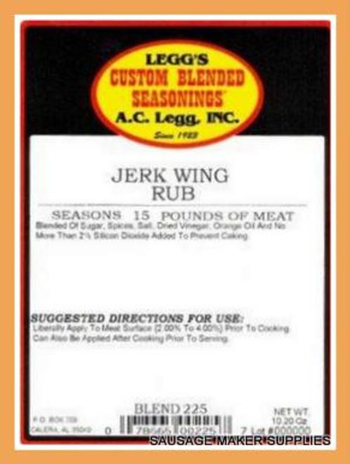 AC LEGG OLD PLANTATION JERK WING RUB BLEND 225