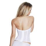 8949 Satin Lace Torsolette White